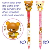 San-X Rilakkuma Eating Burger Mechanical Pen