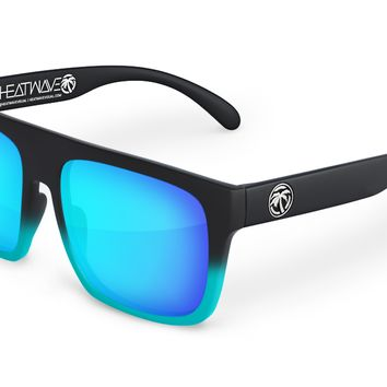 Regulator Sunglasses: Marina Blue Fader