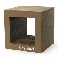 Understated Corrugated: Kittyblock, at 20% off!