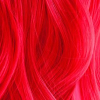 Iroiro 330 UV Reactive Red Neon Vegan Cruelty-Free Semi-Permanent Hair Color
