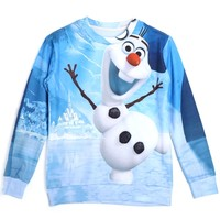 Playful Snowman Sweatshirt