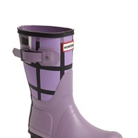 "Women's Hunter 'Original - Short Tartan' Rubber Rain Boot, 1"" heel"