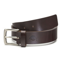 Bison Made No. 1 Leather Belt - Brown