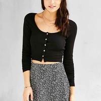 Truly Madly Deeply Clarissa Cropped Long-Sleeve Top