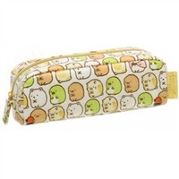 San-X Sumikko Gurashi ''Things in the Corner'' 7.5'' Pen Pouch: Creature Dots