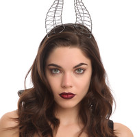 Disney Maleficent Wire Horn Headband