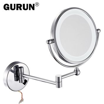 Vanity LED makeup mirror with led light