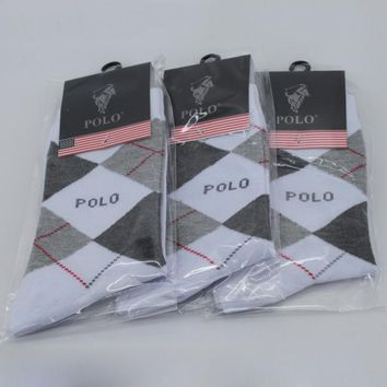 Polo Ralph Lauren Woman Men Cotton Socks