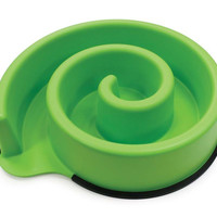 Ethical Pets Slow Feed Bowl - Green
