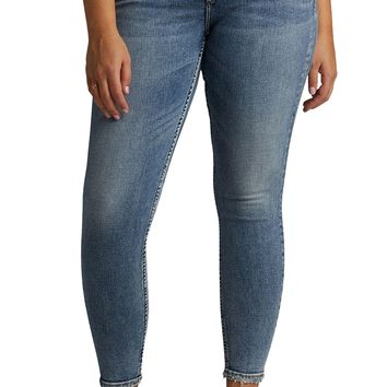 Silver Jeans Avery High Rise Skinny Leg Jeans L94116SSX280