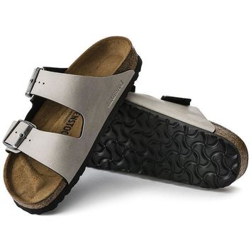 Sale Birkenstock Arizona Birko Flor Pull Up Stone 1003154/1003155 Sandals