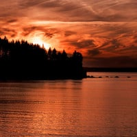 Alaskan Sunset Photo Download