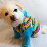 Mod Fleece Dog Hoodie by RockinDogs