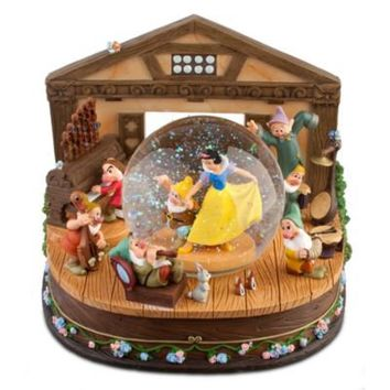 Snow White and the Seven Dwarfs Snowglobe | Home Accents | Disney Store