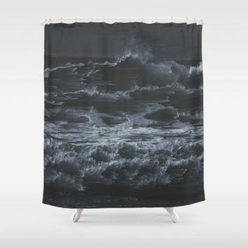 Blow it all Away Shower Curtain by Ducky B