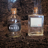 Witch Hazel and Specimen 1031 Apothecary Jars