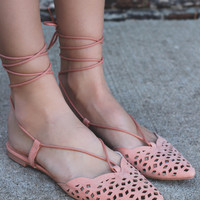 Blushing Bella Flats