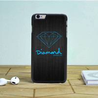Blue Diamond Supply Co Dark Wood Iphone 6S Plus Case Dewantary