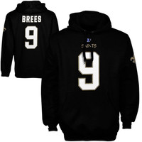 Drew Brees New Orleans Saints  Eligible Receiver Hoodie - Black