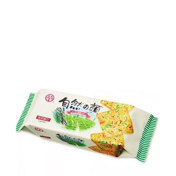 Taiwanese Seaweed Green Onion Soda Crackers, 4.9 oz (140 g)