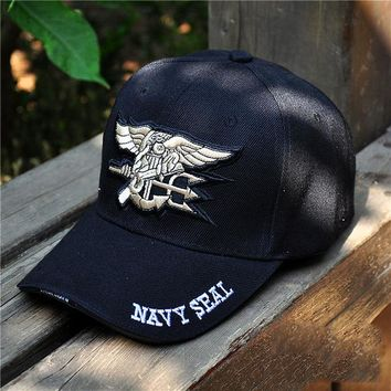 Sports Hat Cap trendy  NEW Baseball Cap Men Women Snapback Air Force Seal Navy Armor Tactical Cap Golf  Cap Outdoors Travel Hats C1157 KO_16_1