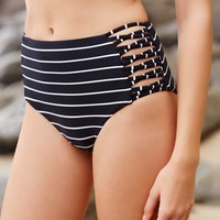 Free People Venah High Rise Bikini Bottoms