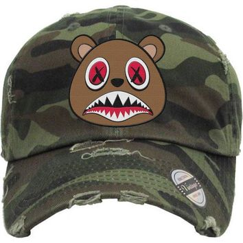 Cinnamon Baws Army Camo Dad Hat