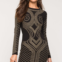 Rehab Stud Bodycon Dress
