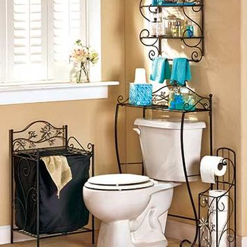 Jeweled Accent Bathroom Collection From