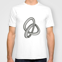 Shape 1 T-shirt by White Print Design