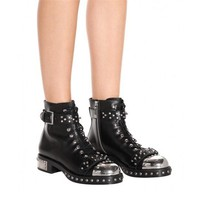 Iron Nail Ankle Boots