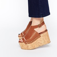 ASOS HIT AND MISS Flatform Sandals