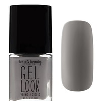 Grey Gel Look Nail Polish