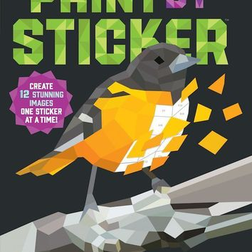 Paint by Sticker: Birds Book