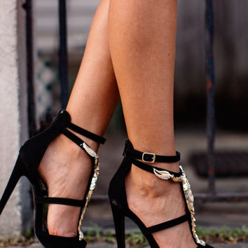 Ivy Sandal Heels With Straps