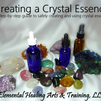 Creating a Crystal Essence: A Step-by-Step Guide to Safely Creating and Using Crystal Essences