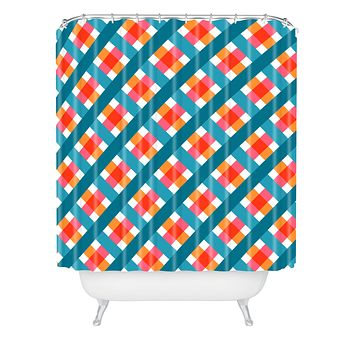 Caroline Okun Franklin Shower Curtain