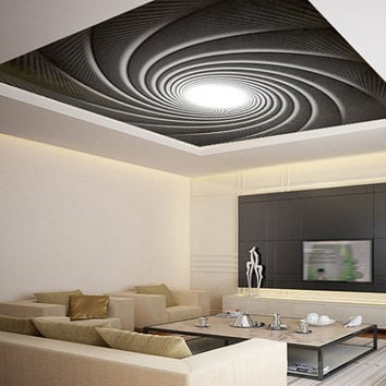 "Ceiling STICKER MURAL spring james bond decole poster 93x93""(236x236cm)"