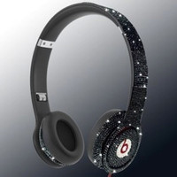 Swarovski Crystal SOLO Beats By Dre Bling Headphones - Christmas / Holiday 2013