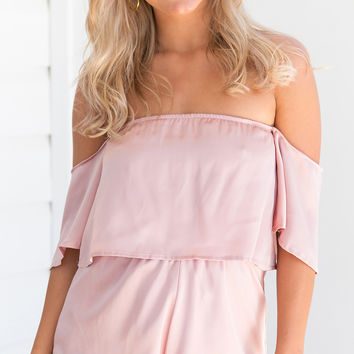LOVEGOOD PLAYSUIT (PINK)
