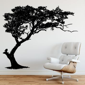 TREE Shade Wall Decal Decor. #312