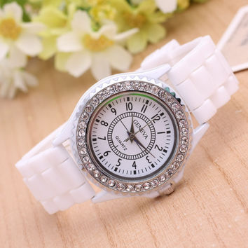 Hot Vintage Fashion Quartz Classic Watch Round Ladies Women Men Wristwatch Michael Kor Like On Sales = 4780970052
