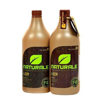 NATURALE  ORGANIC BRAZILIAN KERATIN TREATMENT BLOW DRY  2X 1000ml/33,8 fl.oz.