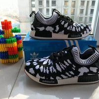 """Adidas"" Fashion Casual Multicolor Spiderman Fly Weave Sneakers Men Running Shoes"
