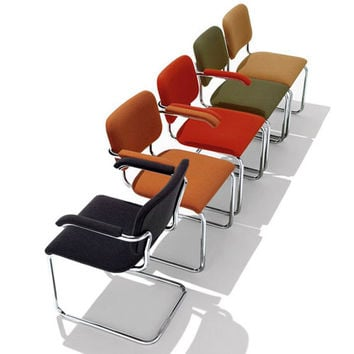 Knoll Marcel Breuer - Cesca Chair Fully Upholstered