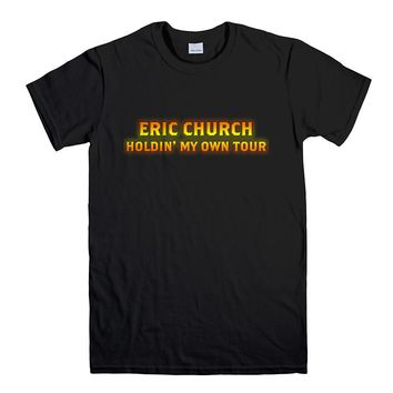 ERIC CHURCH HOLDIN' MY OWN TOUR Men's T-Shirt