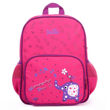 20116 Delune kindergarten Bags for baby girls Children nursery school Backpack adorable Cartoon little girl Bags Child Backpack