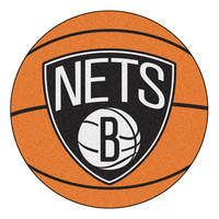 New Jersey Nets NBA Basketball Mat (29 diameter)