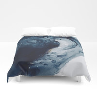 Don't Drown Duvet Cover by duckyb