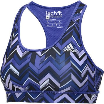 adidas Women's TechFit Chevron Sports Bra